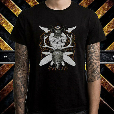 Melvins American Rock Band Logo Men's Black T-Shirt Size S to 3XL