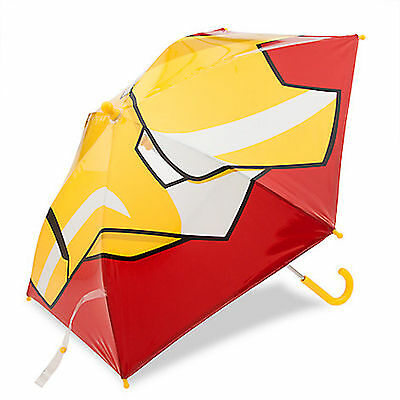 Disney Store Deluxe Iron Man Umbrella Marvel Civil War Avengers Ironman - NEW