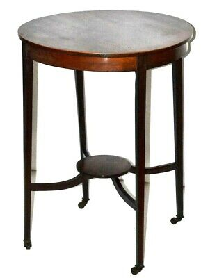 Edwardian Inlaid Mahogany Occasional Table - FREE Shipping [PL3299]