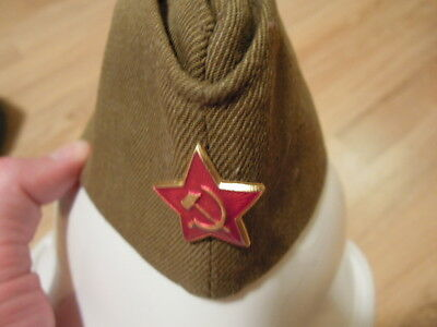 Soviet military cap. See description. Looks new. Free shipping!