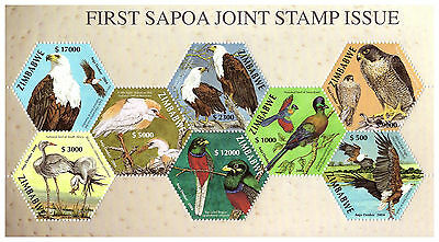 Zimbabwe 2004 Sapoa First Joint Issue Mini Sheet Scott 975