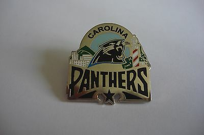CAROLINE PANTHERS NFL metal pin badge - AMERICAN FOOTBALL NEW
