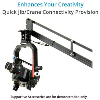 Proaim 360 degree Gold Pan Tilt Motorized Head for DSLR Video Camera Crane Jib