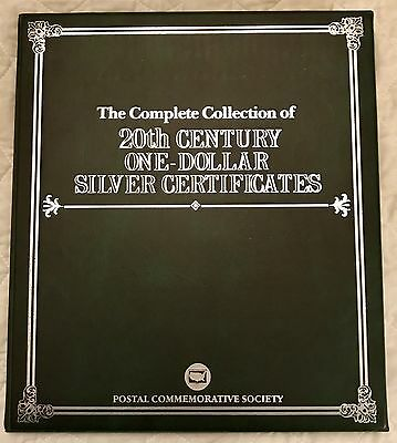 20th Century One Dollar Silver Certificate Collection Folio