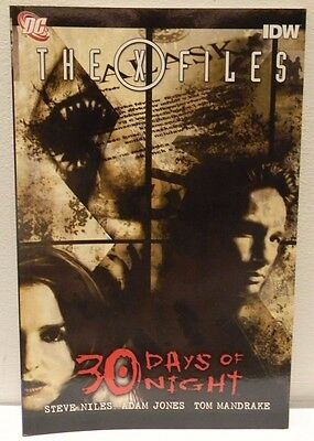 NEW 'The X-Files - 30 Days of Night' Graphic Novel [DC Comics]
