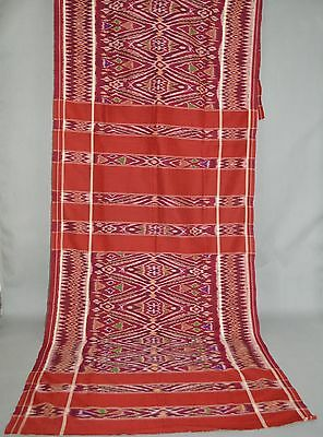 Kamban kain cepuk, textile for ceremonial  and ritual use.  South Bali Indonesia