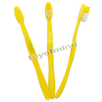 3PCS Toothbrushes Toiletry portable One-time Toothbrushes