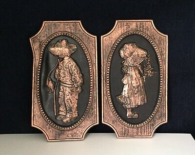 Holly Hobby Wall Hanging Plaque Set Of 2 American Greetings Corp. 1972