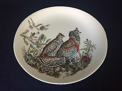 Johnson Brothers Game Birds Ruffed Grouse Oval Plate