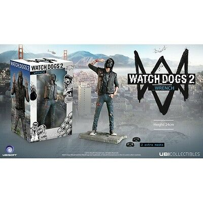 Ubisoft Collectibles Watch Dogs 2 Wrench Figur NEUWARE