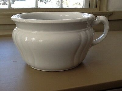 VINTAGE Royal Ironstone China Johnson Bros England Chamber Pot - Excellent Cond.