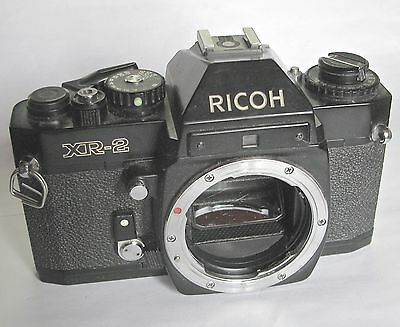 1978 Ricoh XR-2 Camera Body - SLR 35mm.