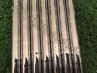 "Pulled Nippon N.S Pro 950GH 0.355 Taper Iron Shafts Stiff 38""-35."" 4-PW Set!"