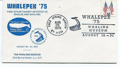 1975 WHALEPEX Whales Herman Melville Moby Dick Cold Spring Harbor Polar Cover