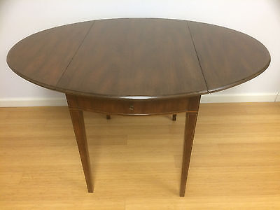 1959 Kittinger Drop-Leaf Gate Leg Table with Drawer - Great Condition - 1 Owner