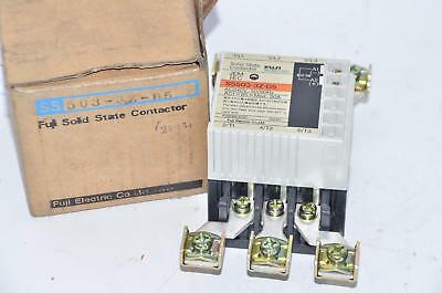 Fuji SS503-3Z-D5 Solid State Contactor, 50A AC240V 50/60Hz