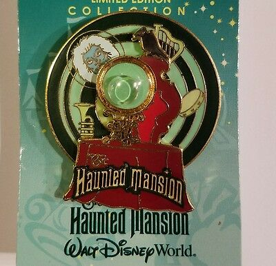 Disney Pin Le Haunted Mansion Spinner Wdw Piece Of History Madame Leota