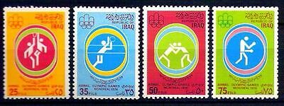 IRAQ 1976 21st Olympic Games Montreal , Canada Set Scott # C58 - C61  MNH