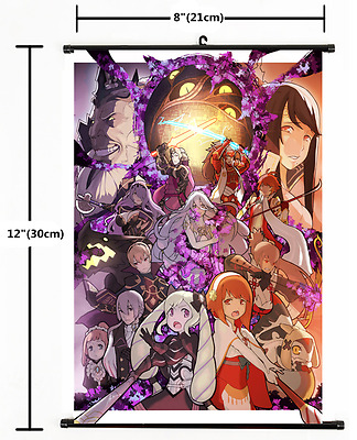 1882 Anime Game Fire Emblem Wall Scroll Home Decor Poster CosplayA
