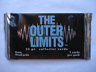 1997 Duocards *the Outer Limits* Sealed Foil Pack