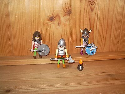 Playmobil Wickinger, 3 Krieger ( 00380)