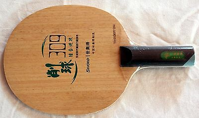 SWORD Professional Table Tennis Blade,309, Chop and Attack, ST Handle, Melbourne