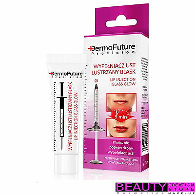DERMOFUTURE Lip Plumper Glass Glow Effect Firming Anti Wrinkle Serum DF002