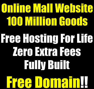 Website - eCommerce - Millions Of Products - Home Online Business - For Sale