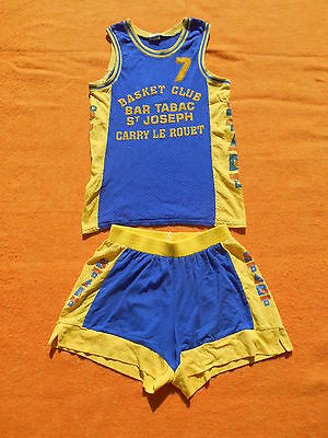 CARRY LE ROUET Maillot Jersey Camiseta + Shorts #7 Start True Vintage Basketball