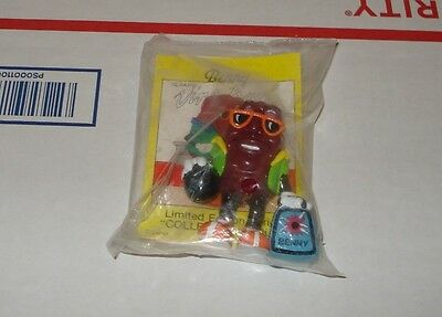 California Raisins Toy -  Benny Bowler - Rare Hard To Find - New Mint Condition