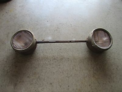 1925,26,27,28,29 Chevrolet, Dodge,Ford,GMC, Headlight Bar With Osgood B23 Lens