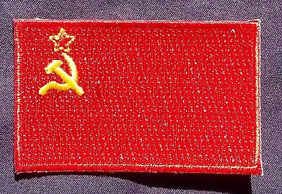 RUSSIA FLAG PATCH MOSCOW SOVIET UNION RUSSIAN CCCP PUTIN DIY LARGE