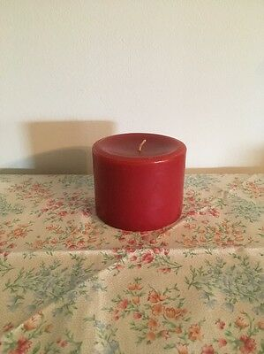 Longaberger Pint Size Pillar Candle - Cinnamon Clove  - New
