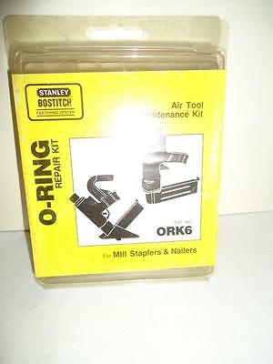 O-RING KIT FOR MIII, Part No. ORK6, by STANLEY BOSTITCH NOS