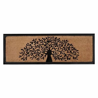 NEW FAB Rugs Tree of Life Rubber Bordered Door Mat