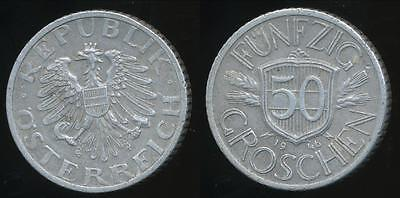 Austria, Republic, 1946 50 Groschen - Very Fine