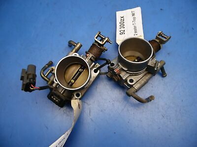 90-95 NISSAN 300ZX OEM complete throttle body with TPS sensor non turbo M/T  x2