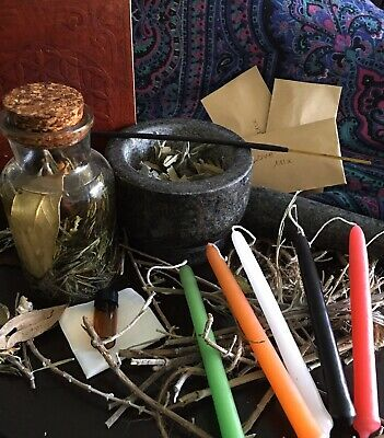 Money, Love & Weight loss Spell Kits ❤️💛💚💰Candle Oil Wicca Pagan Cast