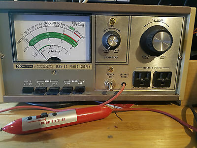 OEM BK Precision Model 1655 Variable Isolated AC Power Supply