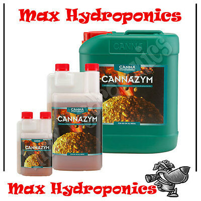 Canna Zym 250ml 1L 5L Cannazym Natural Enzyme, Breaks Down Dead Root Matter