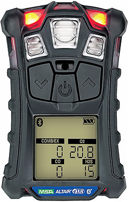 MSA ALTAIR 4XR Multigas Detector with Bluetooth [LEL, O2, Co, H2S] 10178557