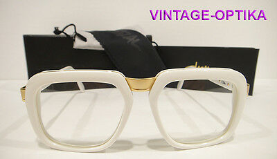 Cazal 616 Eyeglasses Legend (Col-180) White Gold New Authentic P Diddy
