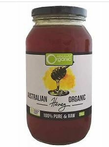 Absolute Organic Raw Australian Honey 1kg