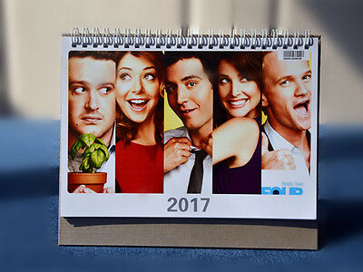 HOW I MET YOUR MOTHER Character Photo 2017 Desk Calendar Collection NEW MONTH