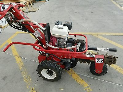 """Hydraulic Trencher 18"""" SELF PROPELLED"""