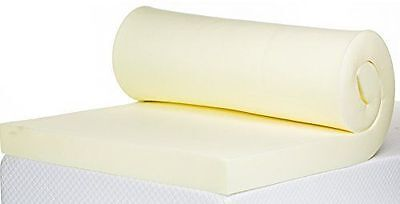 """New 100% Memory Foam Mattress Topper Available In All Sizes And Depths 1"""",2"""",3"""""""