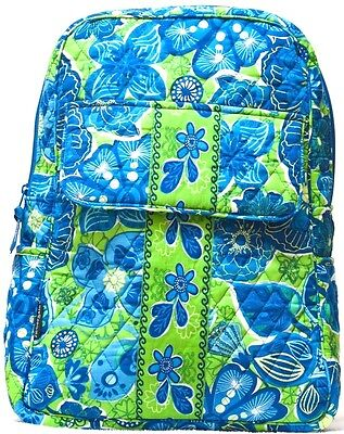 Abbergale Backpack School Bag Small New Floral Quilted Cotton Colorful