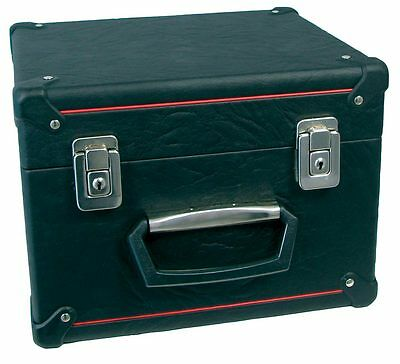 Scarlatti STANDARD CONCERTINA CASE. Wooden case with black outer. From Hobgoblin