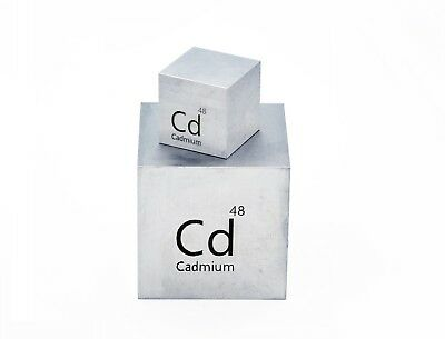 Cadmium Metal 99.999% Pure 10g for Element Collection