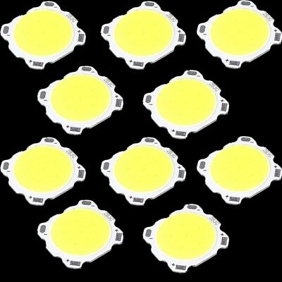 20* 3W Pure White LED Light Lamp Chip COB High Power Roundness Emitting Diode